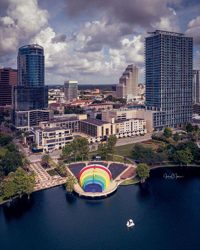 Lake Eola, Orlando, FL, Mavic Pro, Downtown Orlando