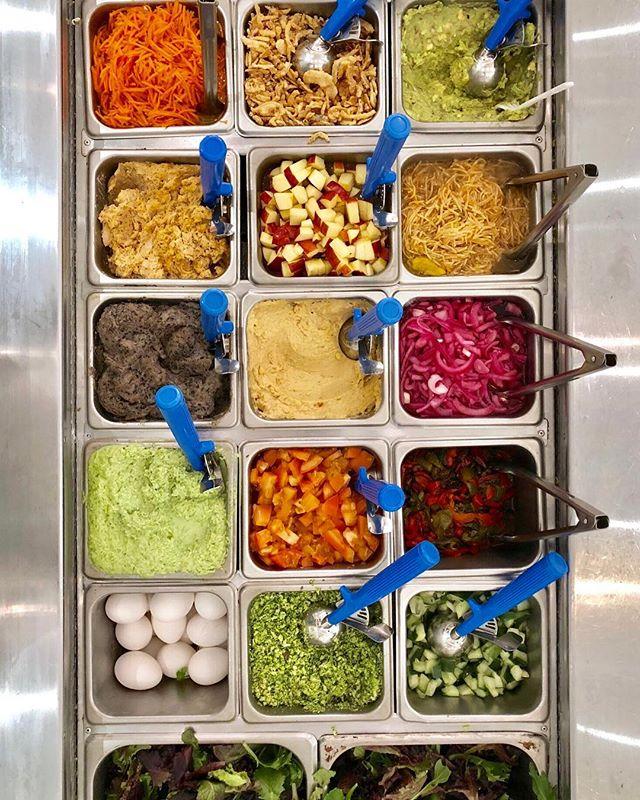 Today's lineup 👆What're your favorite toppings? • • • • • #eatlocalleaf #localleaf #eatlocal #becomealocal #saladsaresoyesterday #cleaneating #healthy #dailyfoodfeed #eatupnewyork #feedfeed #foodiesofinstagram #nycdining #foodiegram #instafood #realfood #f52grams #nyceats #nyceeeeeats #eastcoastfoodies #thedailybite #foodilysm #nycfood #foodporn #thrillist #forkyeah #eater #newforkcity