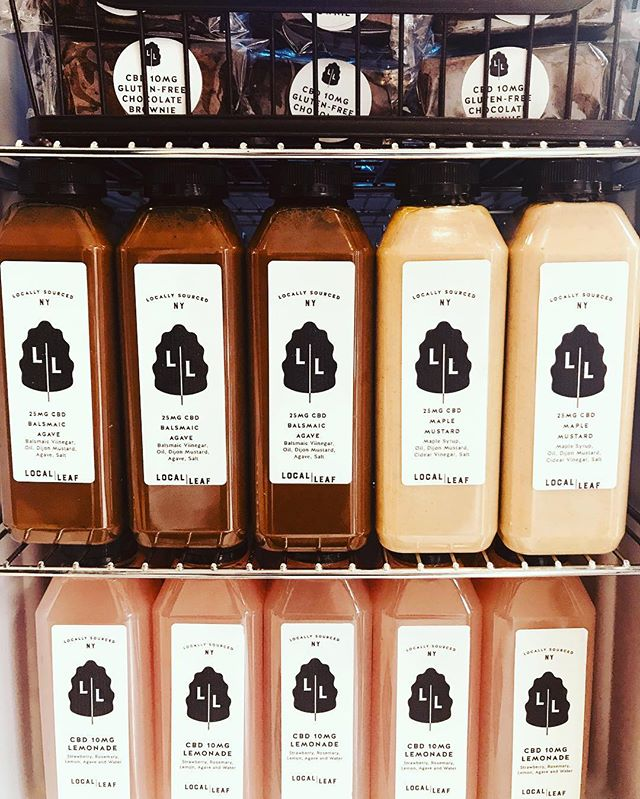 🎶 You down with CBD? Yeah, you know me! 🎶 CBD fridge is back up and running, just in time for the weekend and we're welcoming it back with some new offerings. Fan of our house made vegan and nut free dressings? You're in luck! We're offering up some select 25mg bottles for only 9 bucks! Eat good, live good, feel good.