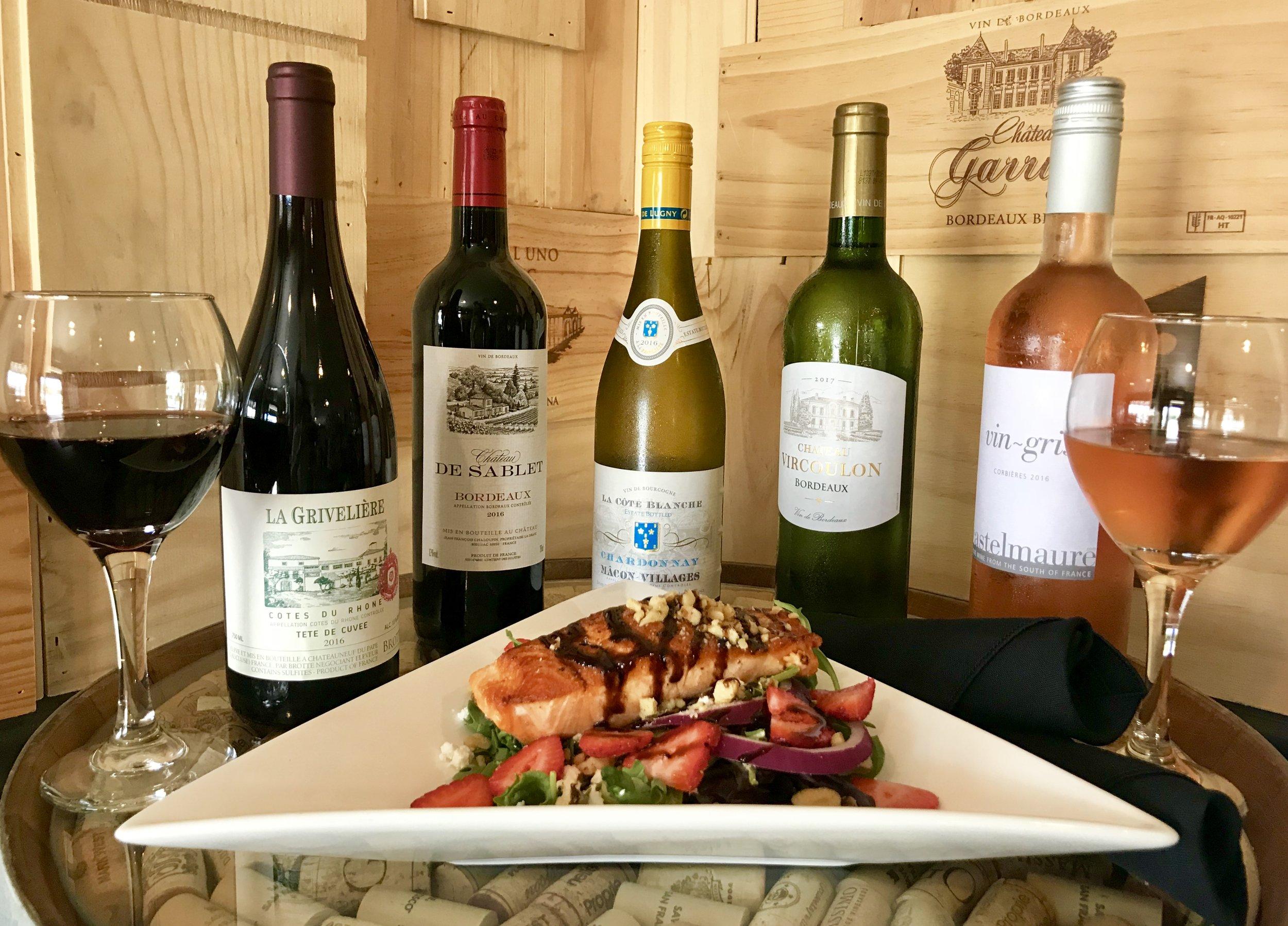 French Wine Flight with Salmon Salad.jpg