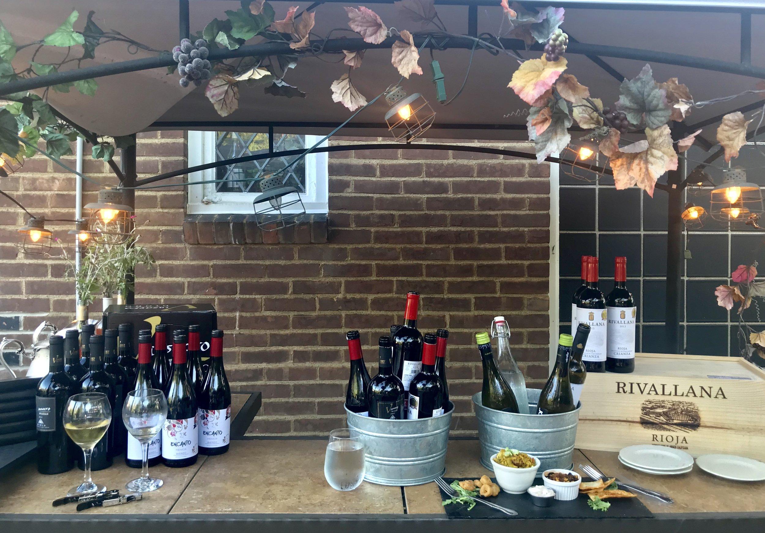 Enjoy food and wine pairings at Cork & Barrel Wine Bar