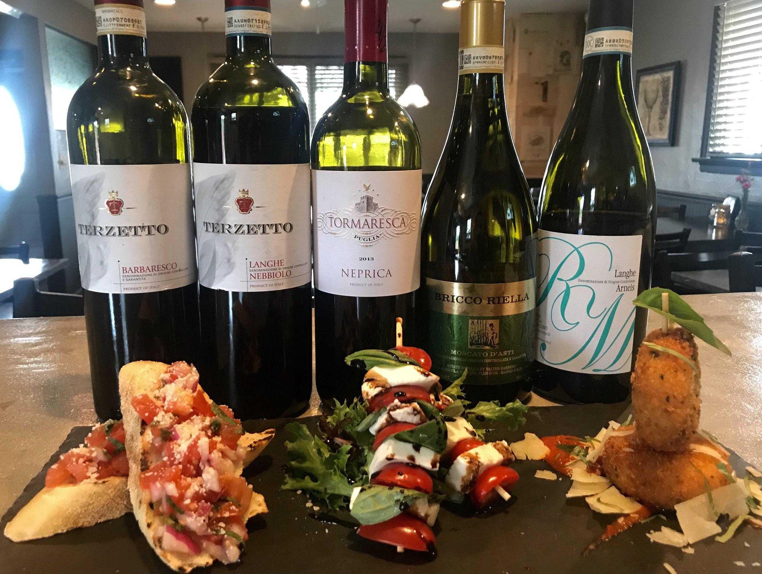 Italian wine flight and small plates.jpg