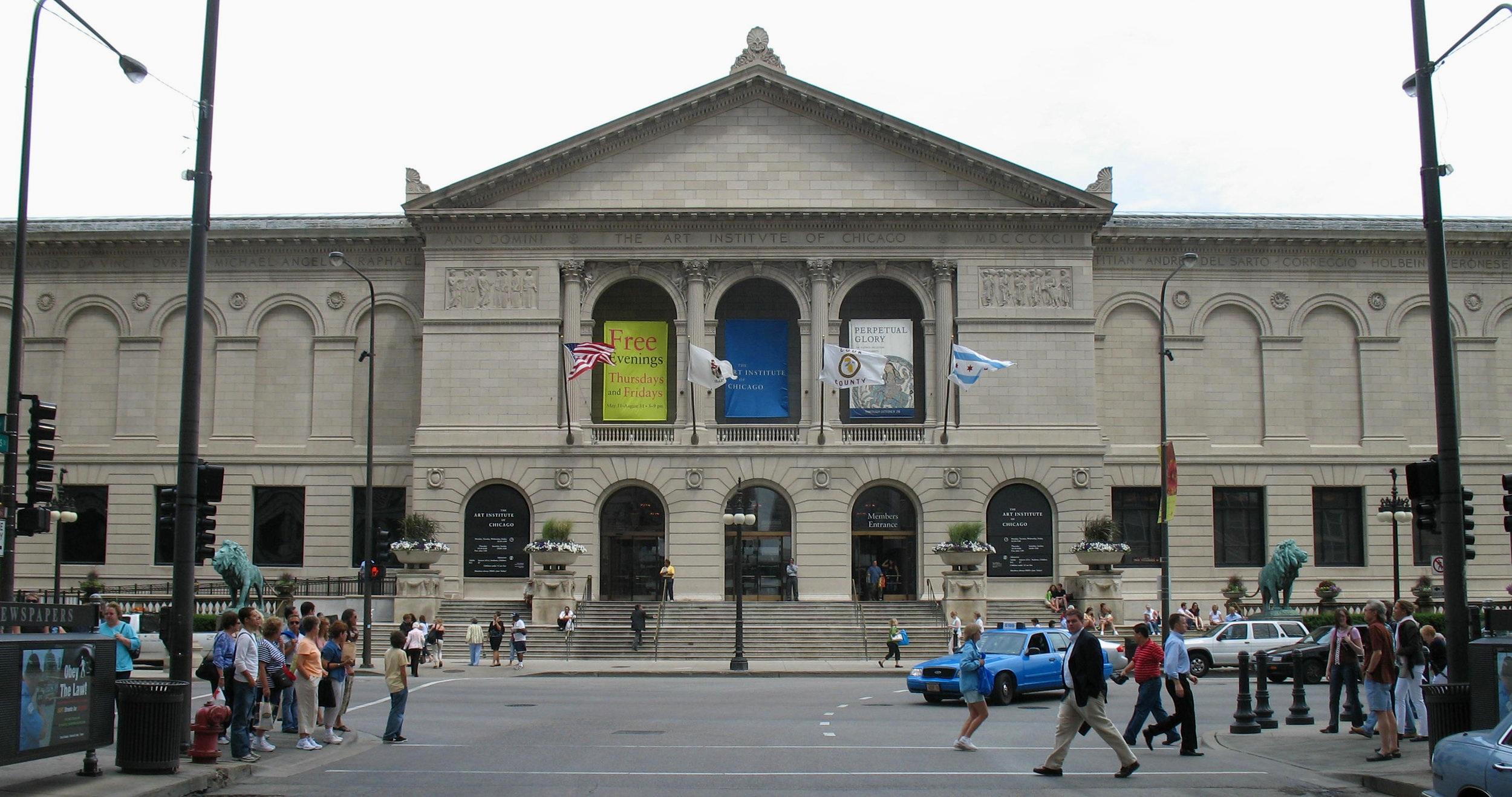 Antonio Vernon,  Art Institute of Chicago Front View , 2007