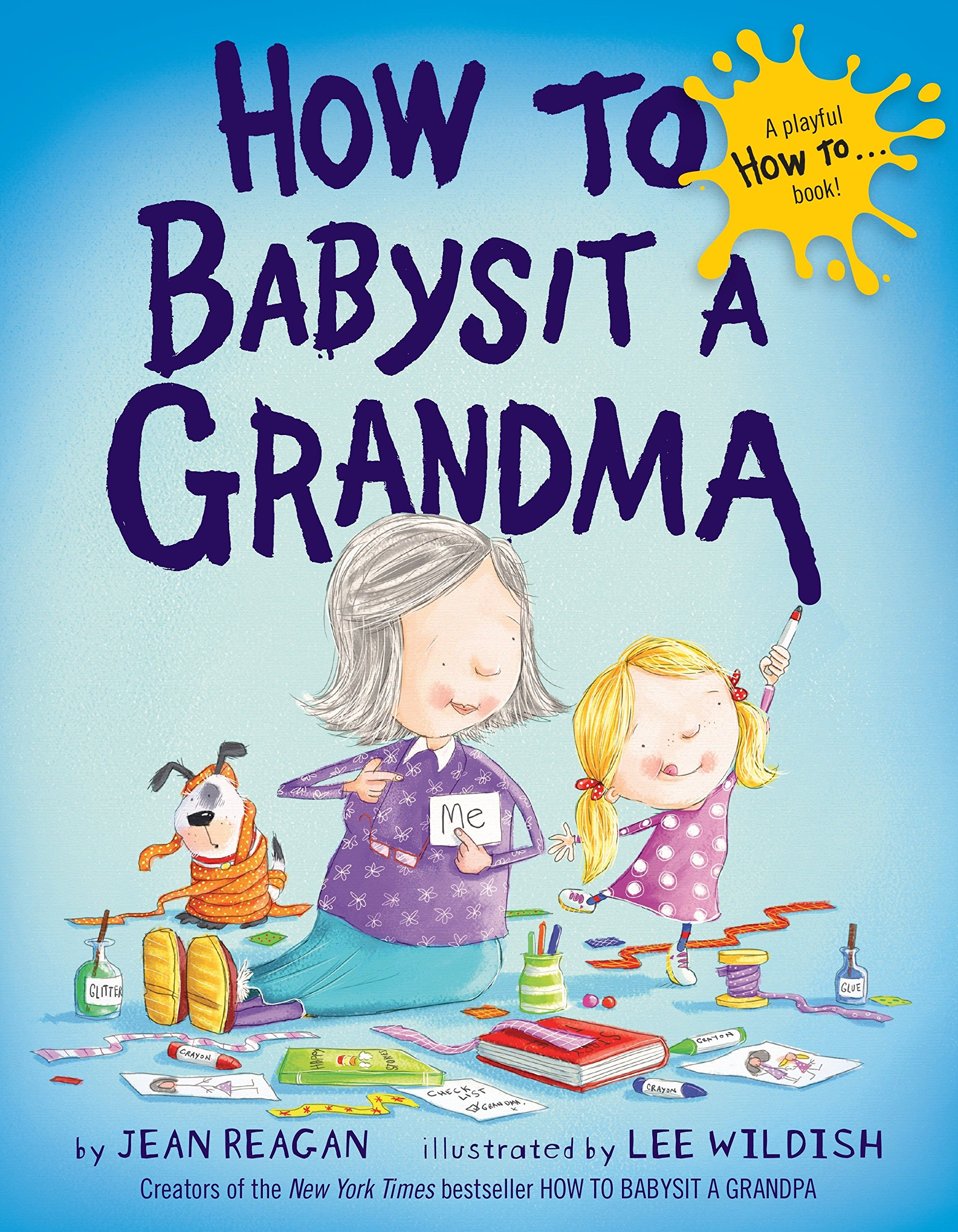 This book and many others are available from the MidPointe collection. Little ones love to read with (and about!) grandparents and other family members!