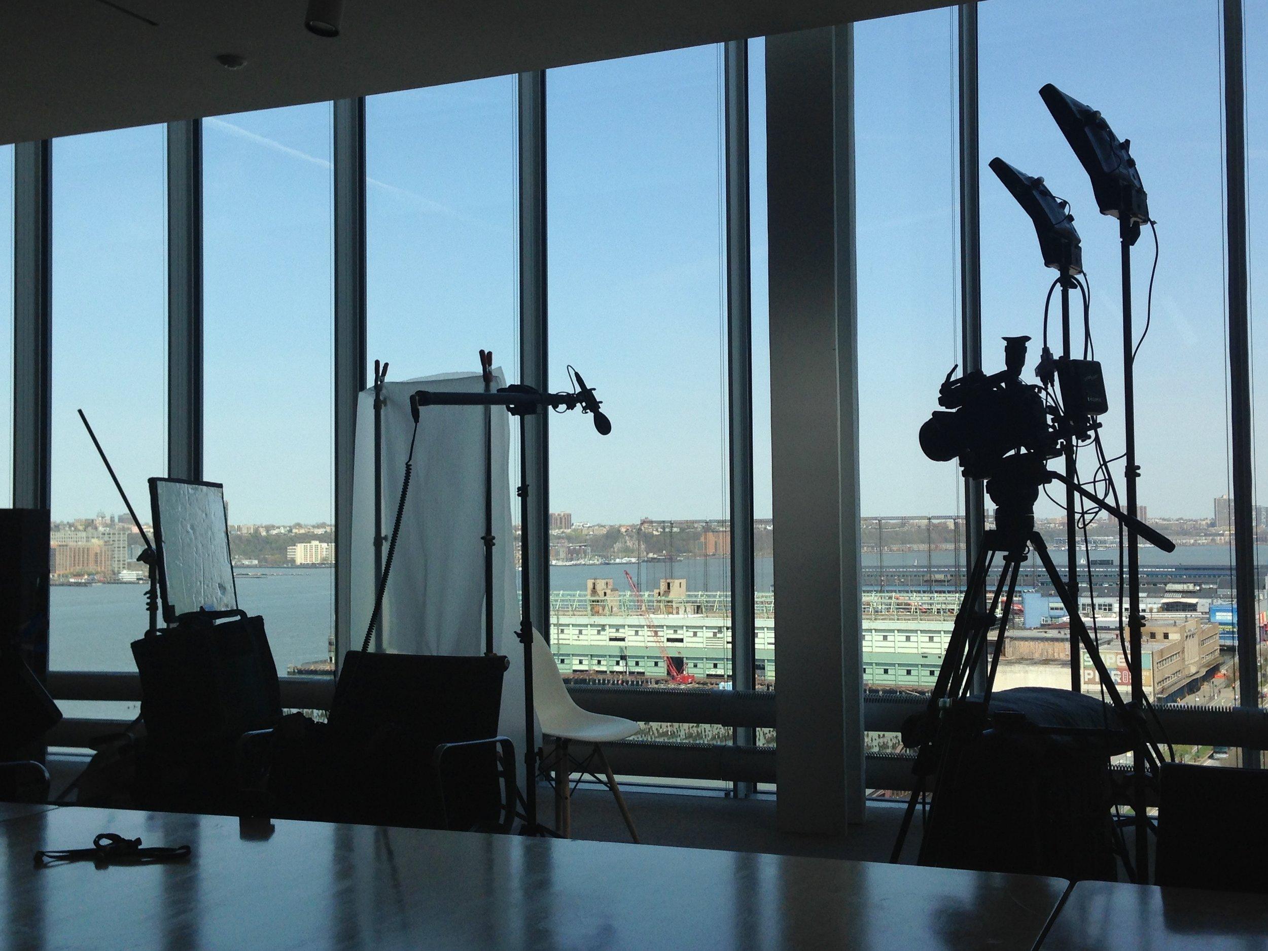 Interview set at WMAA.jpg
