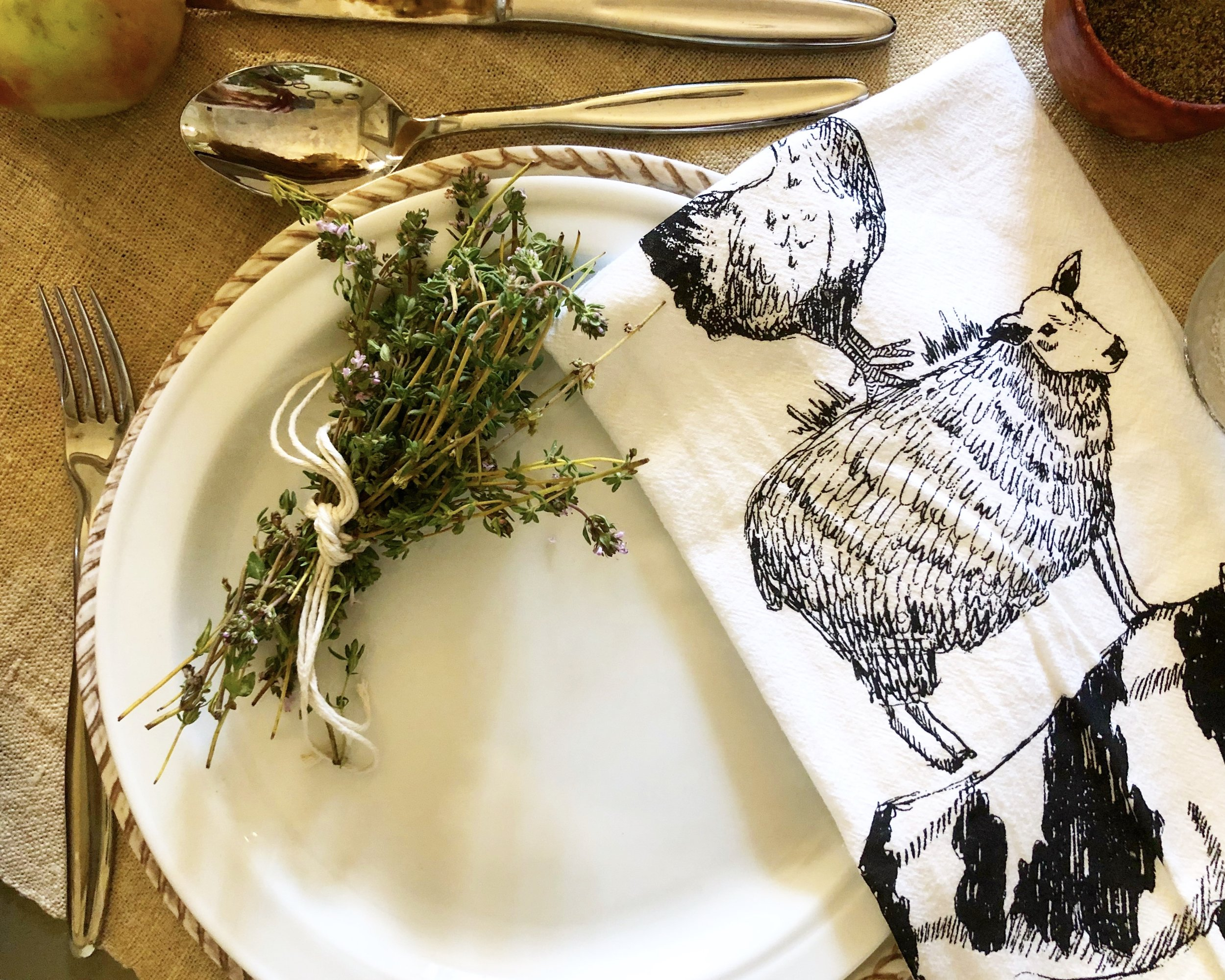 As Mabel Mercer once allegedly said, thyme heals everything.