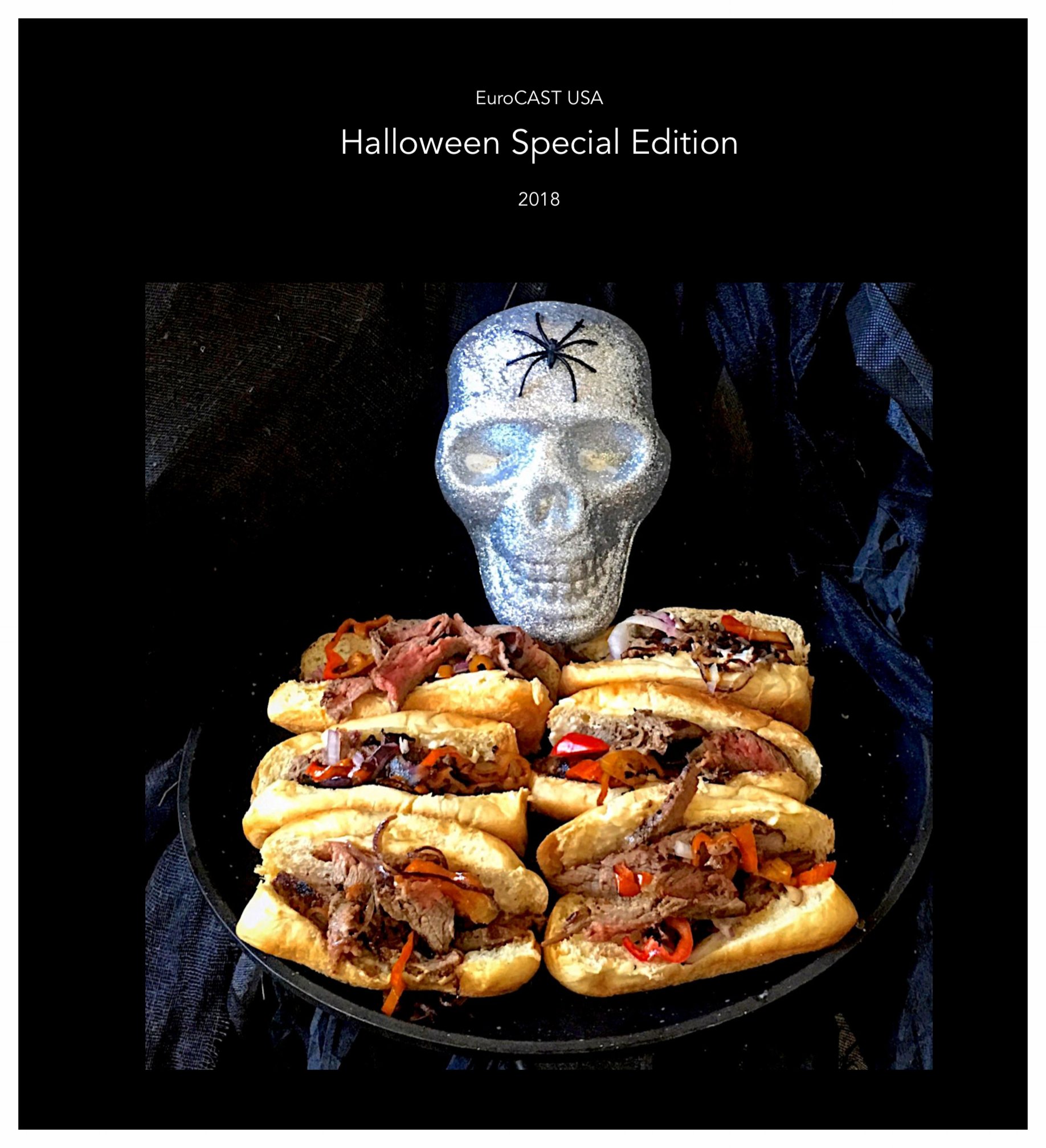 Click on the button below for our Halloween Special Cookbook! Free! Free! Free! All the thrills and chills! Plus, $300 in savings on the EuroCAST Chef Set! Plus, we'll give you for free as a holiday bonus the Stir-Fry Wok.