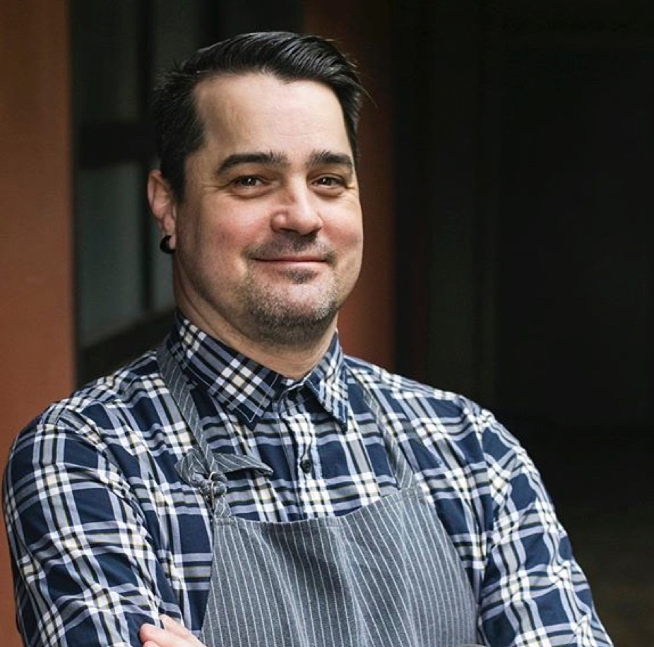 Chef Patrick McKee of Portland. Visit him at Estes, hosted by the elegant Dame restaurant pop-up space.