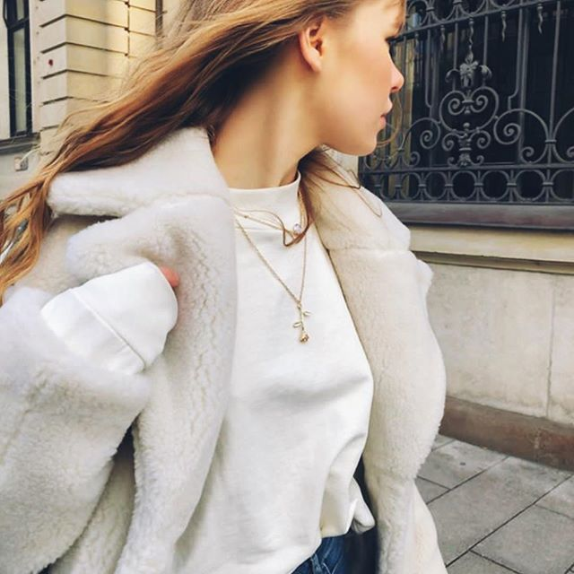 Beautiful @changeablestyle in our basic sweater, 100% organic cotton, fairly made #sustainablefashion #greenfashionblogger #fairfashion #sweater #clothing #streetstyle #startup #social #entrepreneur