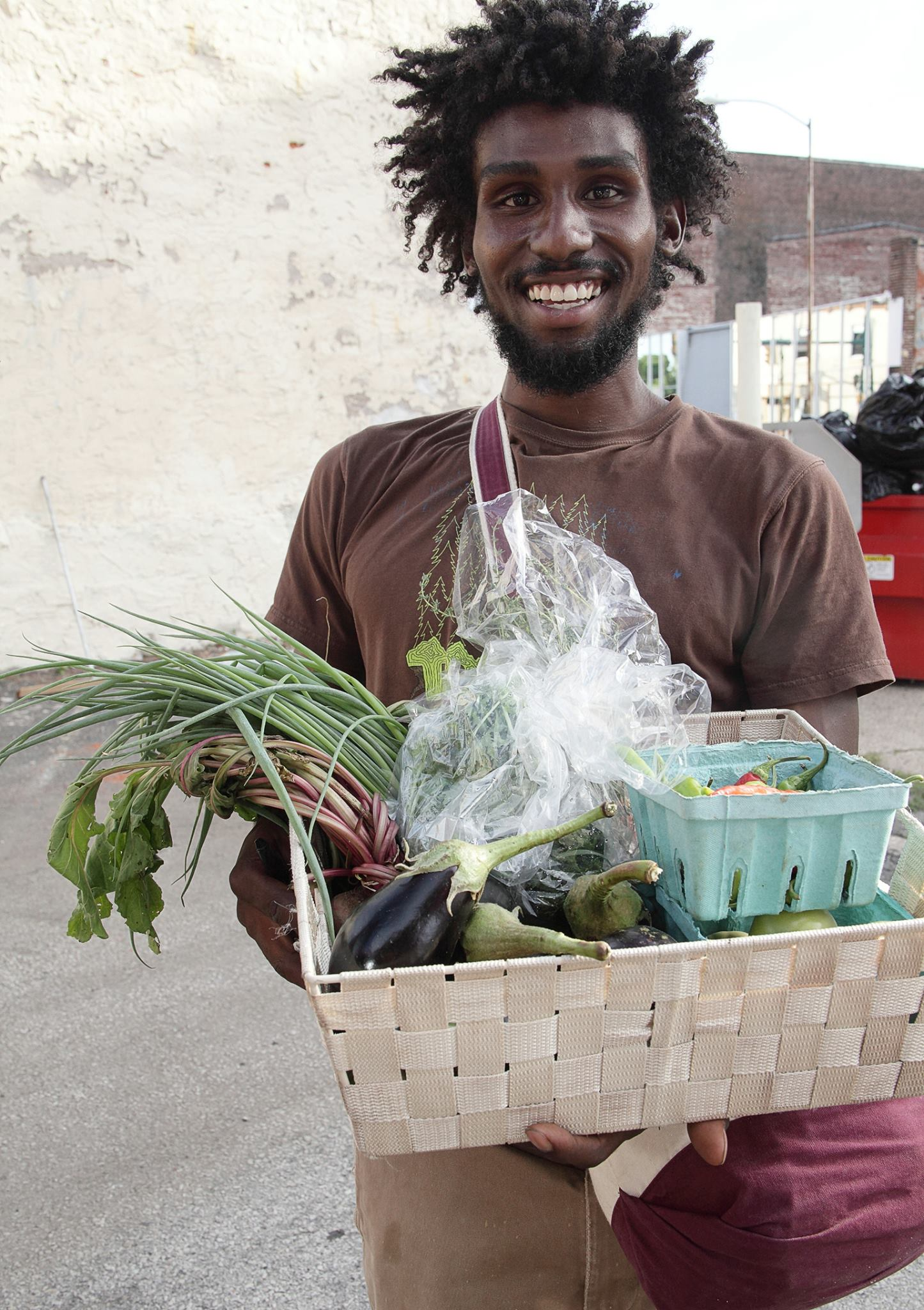 Agroecology at OneArt - Terrence Topping-Brown led an agroecology course at OneArt Community Center