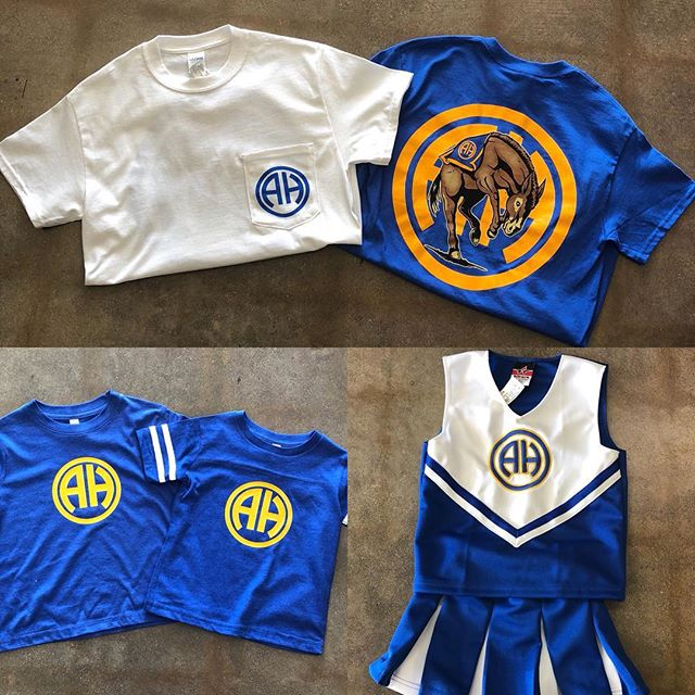 Gear for all ages! Stop in and check out our Alamo Heights apparel, we are here until 6! #shoplocal #supportlocal