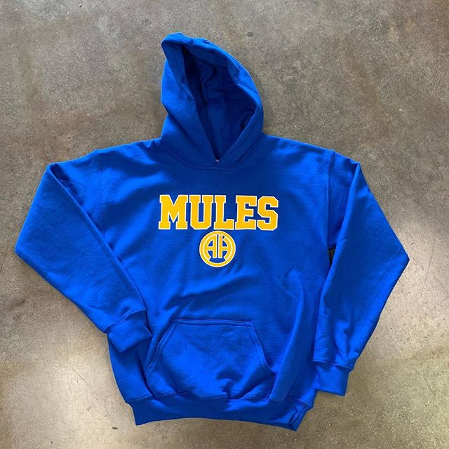 Hoodies are in! Youth and adult sizes, perfect for this crazy cold weather. #shoplocal #vivrouxsports