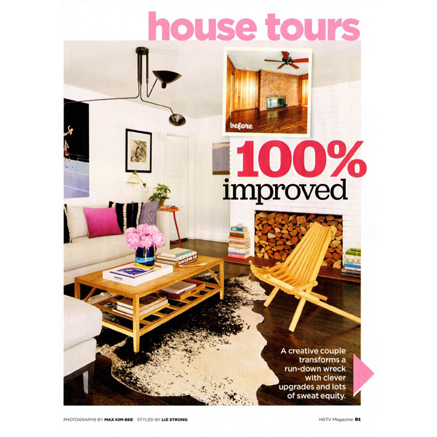 HGTV Magazine  March 2016