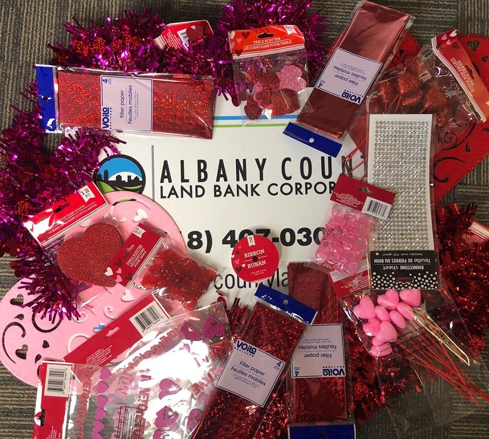 ACLB Valentine's Crafting Supplies!