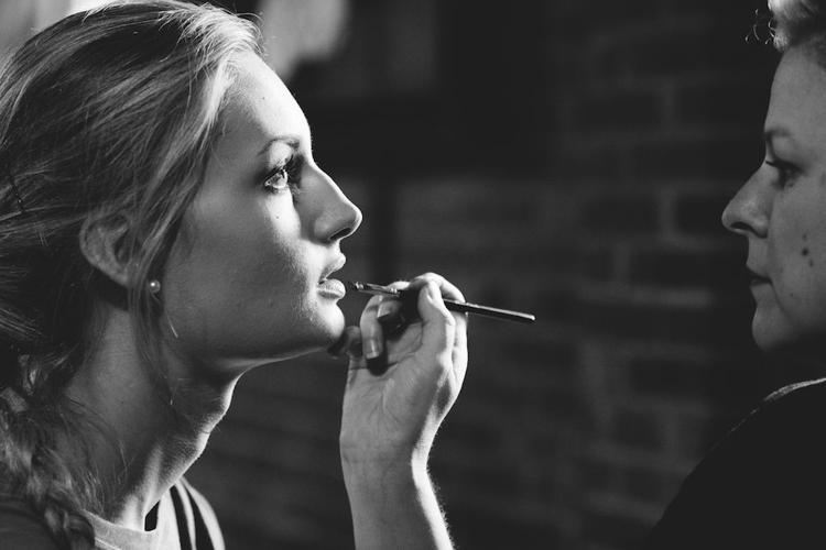 Makeup Artist/ Stylist Ashley Gunter,     Photo by JJ Dunlap IV