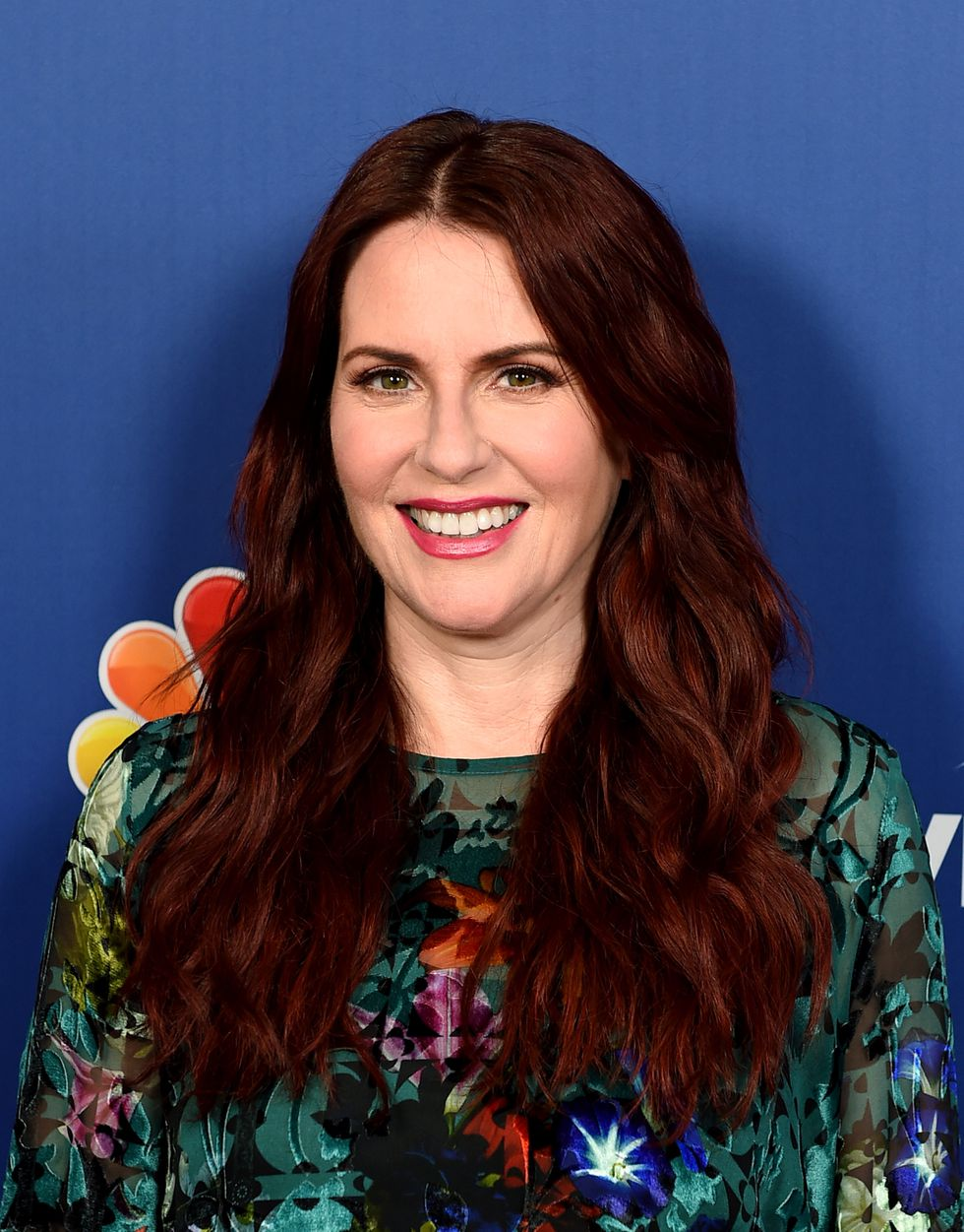 TREND: Burgundy Hair   Pinterest fans can't get enough of deep red tones, like Megan Mullally's oxblood-colored locks. From brighter hues to more rich shades, there is definitely interest (read: pins galore) in this autumnal color.