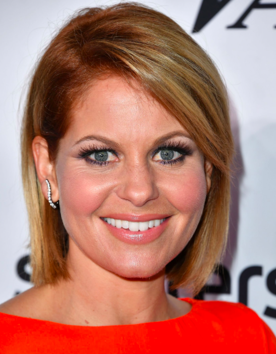 Red Undertones   If you're worried about straying too far from your blonde roots then go for a subtle approach by adding a bright peachy hue at the roots similar to  Fuller House  actress Candace Cameron Bure.