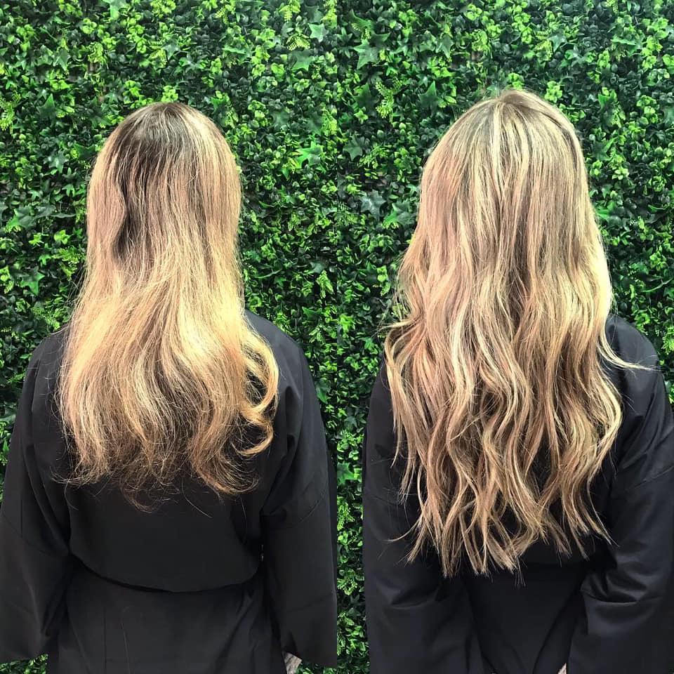 Hand Tied Hair Extensions/ Natural Beaded Rows Hair Extensions/ NBR Studio Meraki Salon & Apothecary Columbia, SC