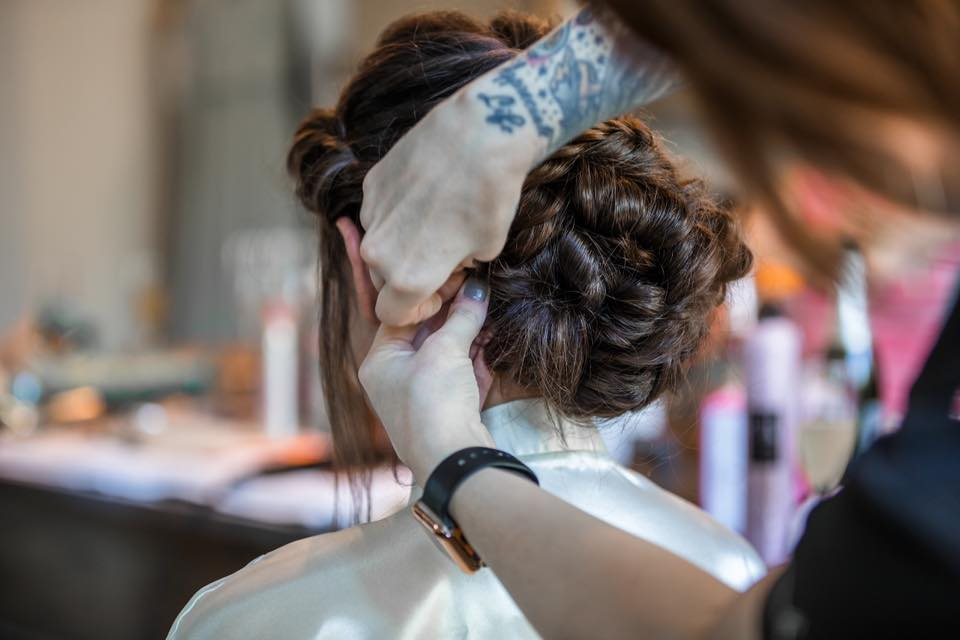 Hand Tied Hair Extensions, Wedding Hair and Makeup Columbia South Carolina  Studio Meraki Salon & Apothecary