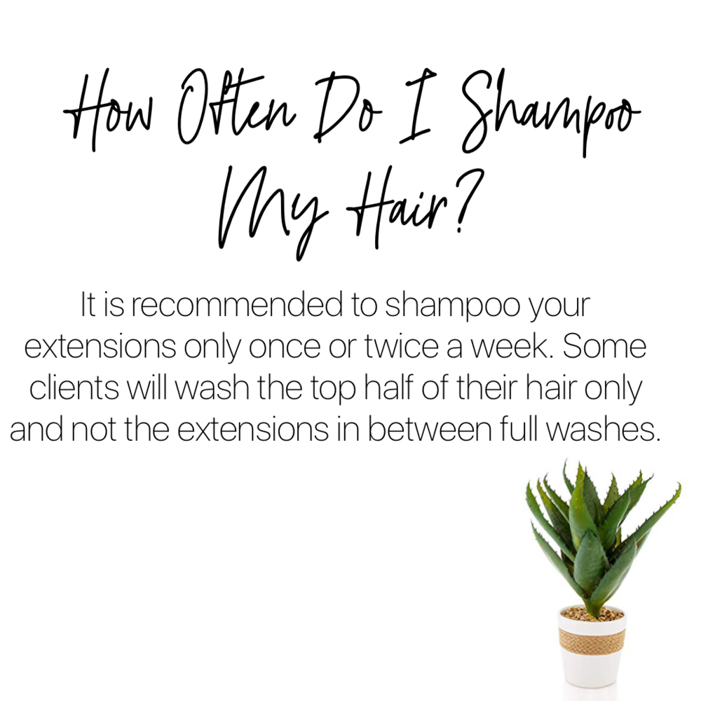 HOW OFTEN DO I SHAMPOO MY HAIR?