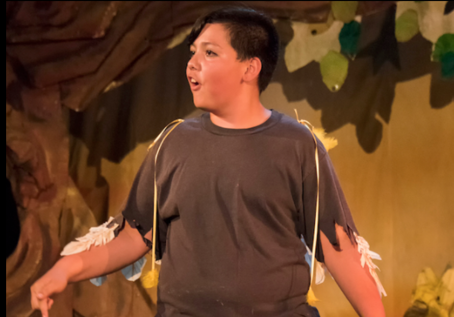 Isaac Lopez in Moving Arts Española 2018 Spring Production of Alicia in the Wonderland of Enchantment