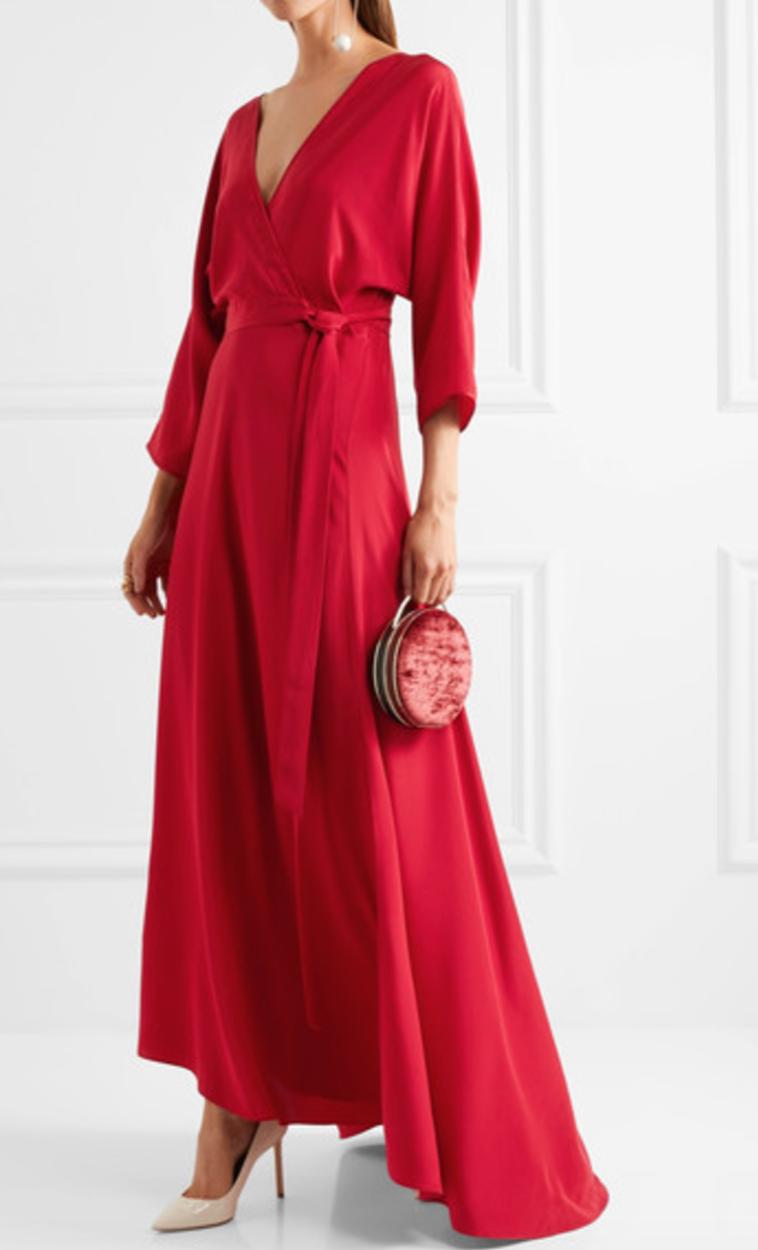Dress by: Diane Von Furstenberg
