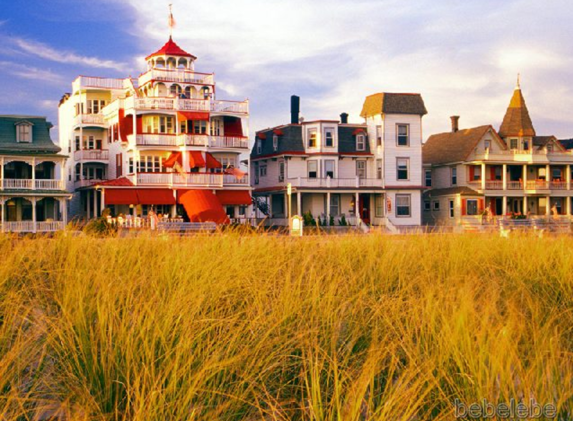 Cape May, New Jersey. General vibe: beach casual.