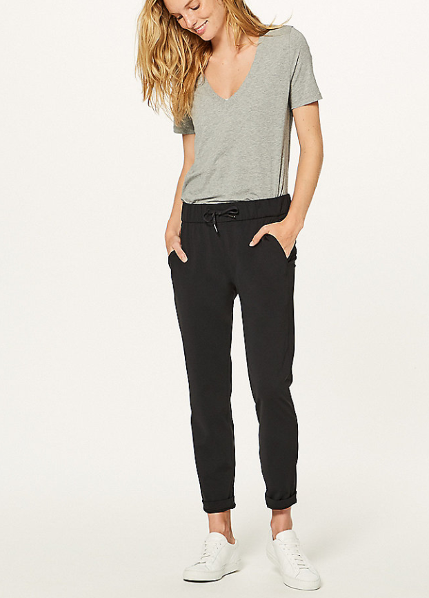Lululemon Joggers! Not too loose, not too tight!