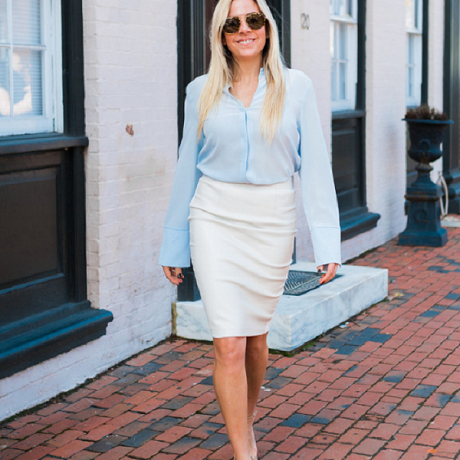 White Leather Weather - How to wear it!