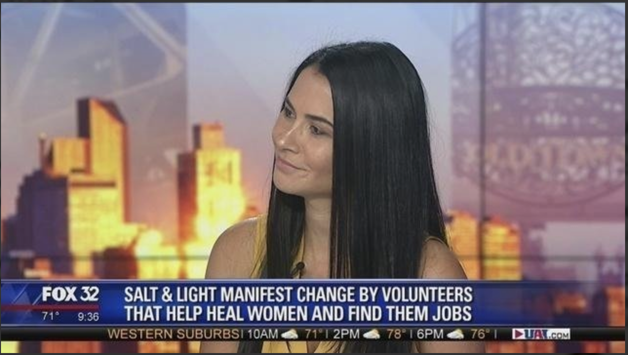 Salt & Light Coalition combats human trafficking head-on in Chicago - Izabel Olson, founder and executive director of the Salt & Light Coalition, joins Good Day Chicago to talk about their efforts to empower women and destroy the system of human trafficking in the city..