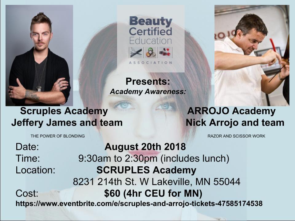 Arrojo and Scruples Academy