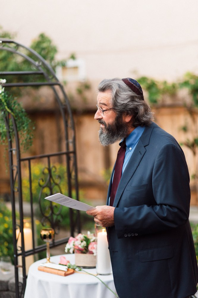 """Hi, I am Rabbi Barry! - Most Rabbis are more about the religion rather than the Relationship. Lots of Rabbis will fit the couple into the, """"Jewish Wedding Box"""", while I want to focus on the couple and the belief system that makes YOUR relationship work."""