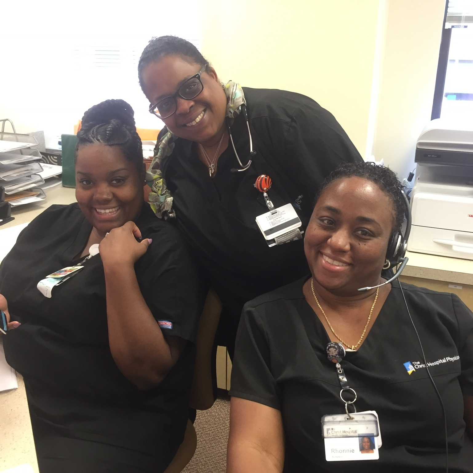 No matter where you interview make sure you are kind to the office staff... these ladies are so important to how our day runs