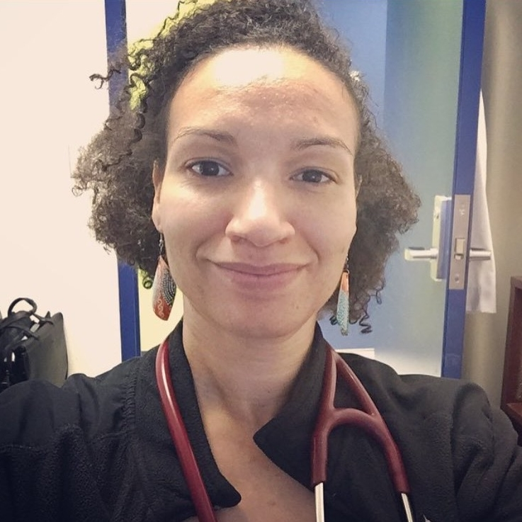 Anisa Shomo, MD- Ohio State University COM  Class of 2013  Anisa is a board certified Geriatrician in addition to Family Medicine. She splits her time between working at the University of Cincinnati and in Haiti. She staffs 2 clinics for the Cincinnati Health Department. One is located inside of Riverview East Academy. It is part of the School Based Health Division and it is a longitudinal clinic site for the residency. The other is a traditional FQHC model. She practice Family Medicine and Geriatrics at both locations. In Haiti, she helps to manage the pediatric, adult medicine, and Gyn outpatient clinics in addition to the inpatient service. She is also an avid runner and past ambassador of Black Girls Run! Cincinnati Chapter.
