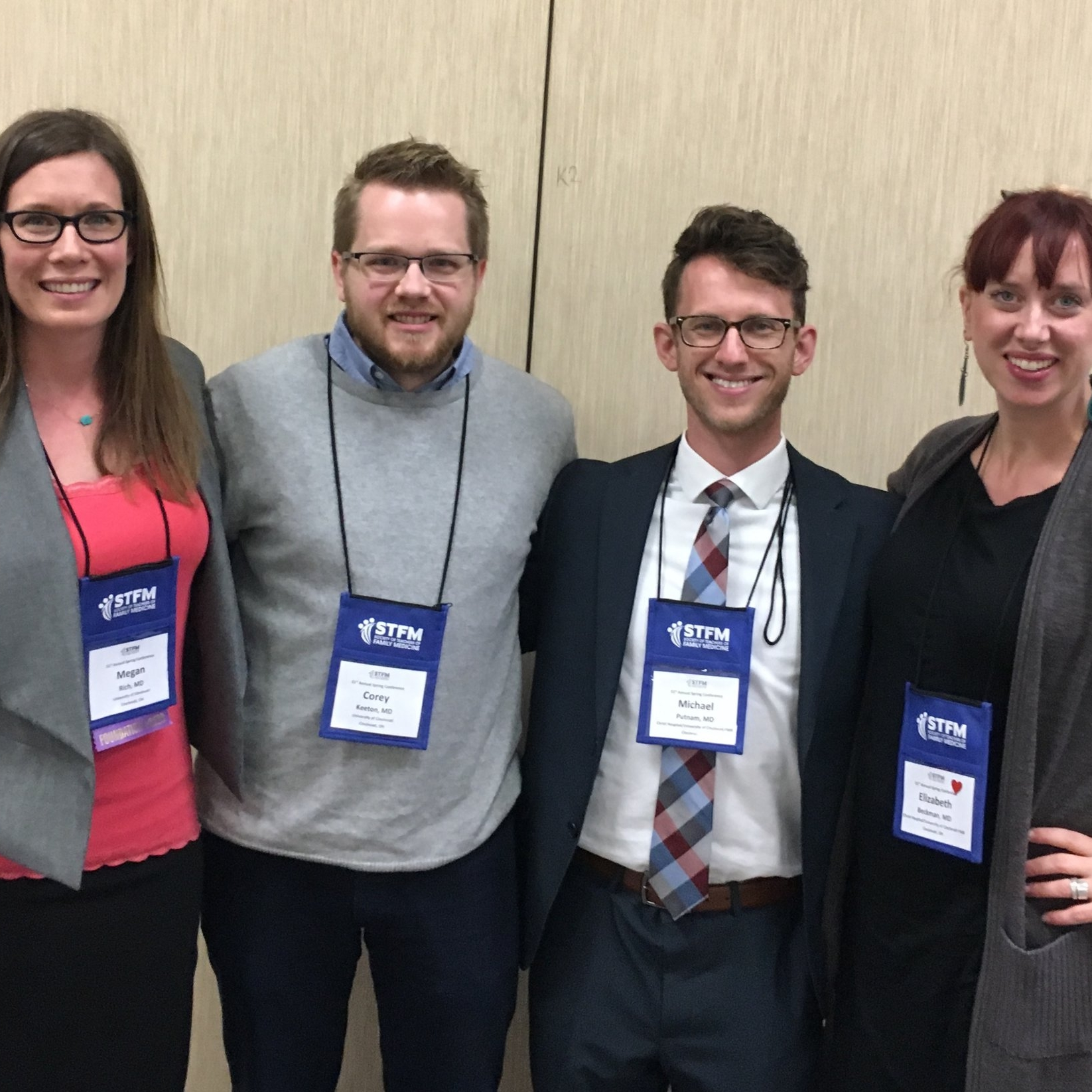 We tend to have a good showing at the annual Society of Teachers of Family Medicine (STFM) Conference and May 2018 is no different. Our residents are giving presentations and posters and panel discussions... Oh My!