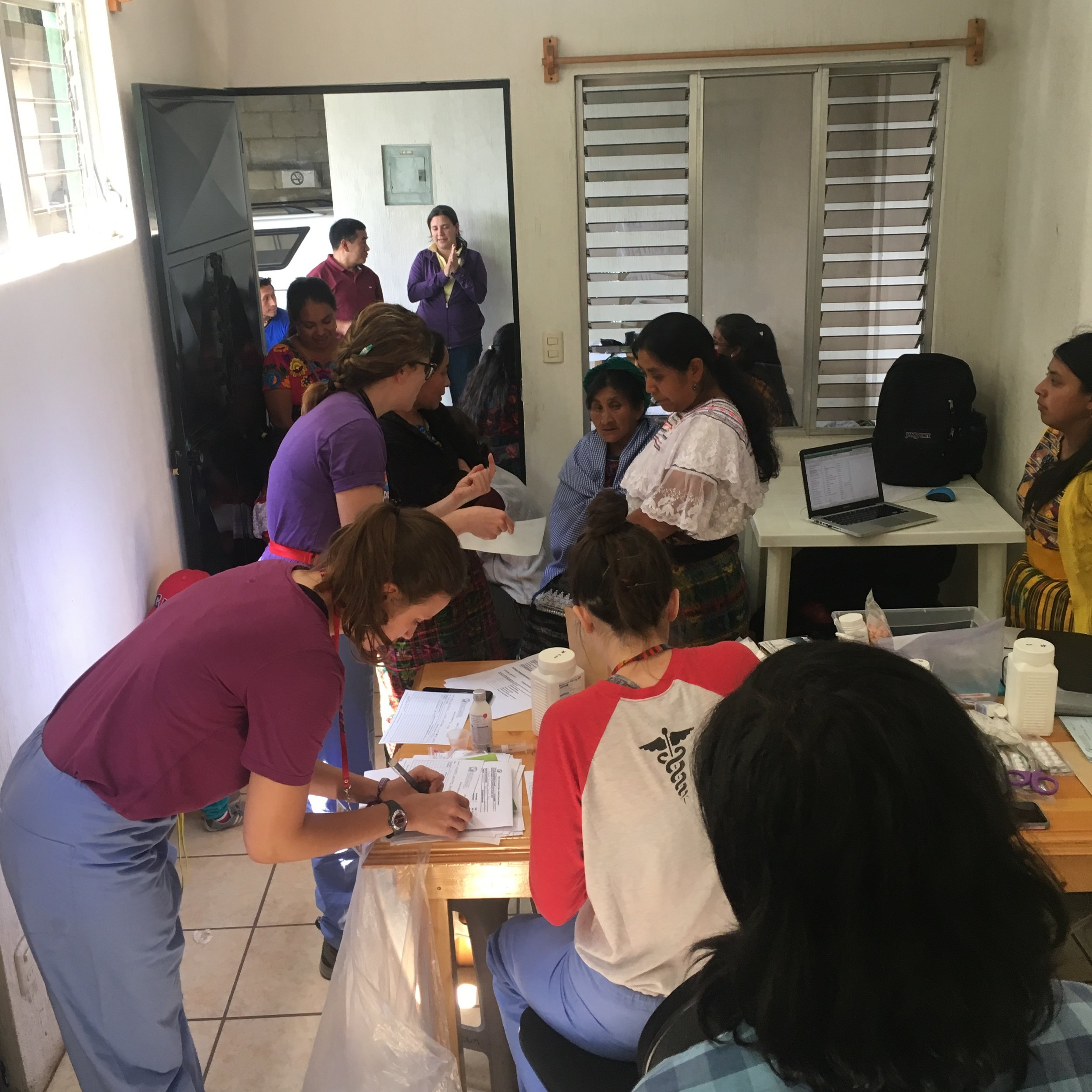 For the second week we traveled to the city of Tecpan which served as our base for daily clinics in more remote and outlying communities.
