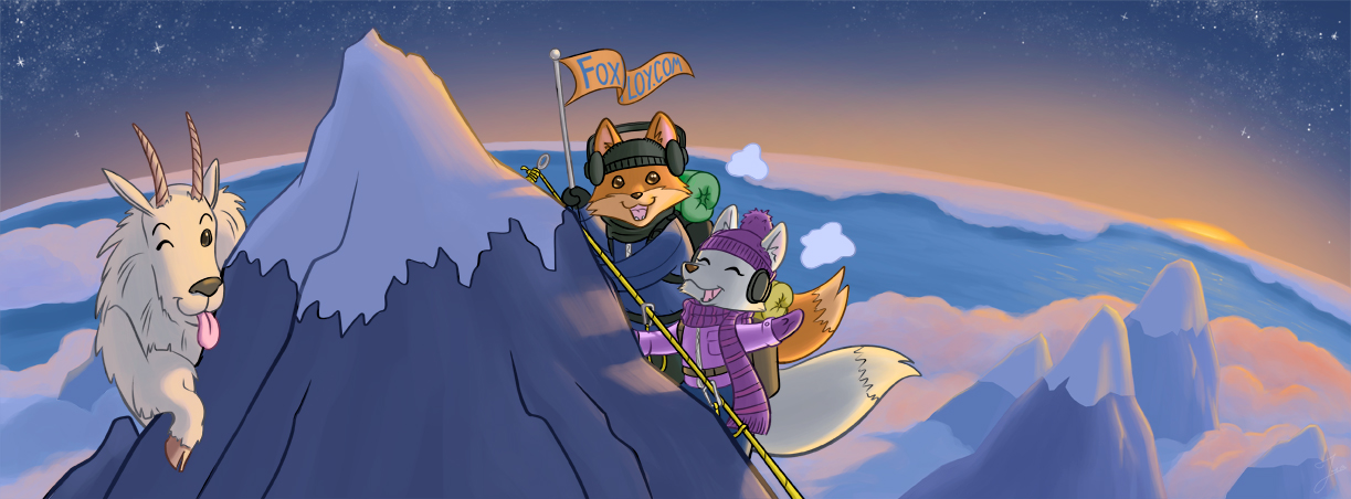 Banner designs for Powershell programming blog  Fox Deploy .