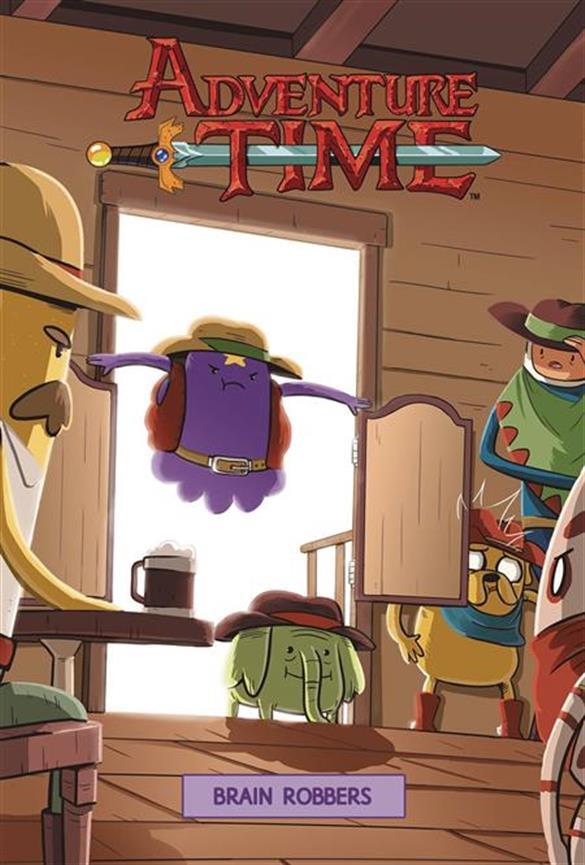 Adventure Time: Brain Robbers