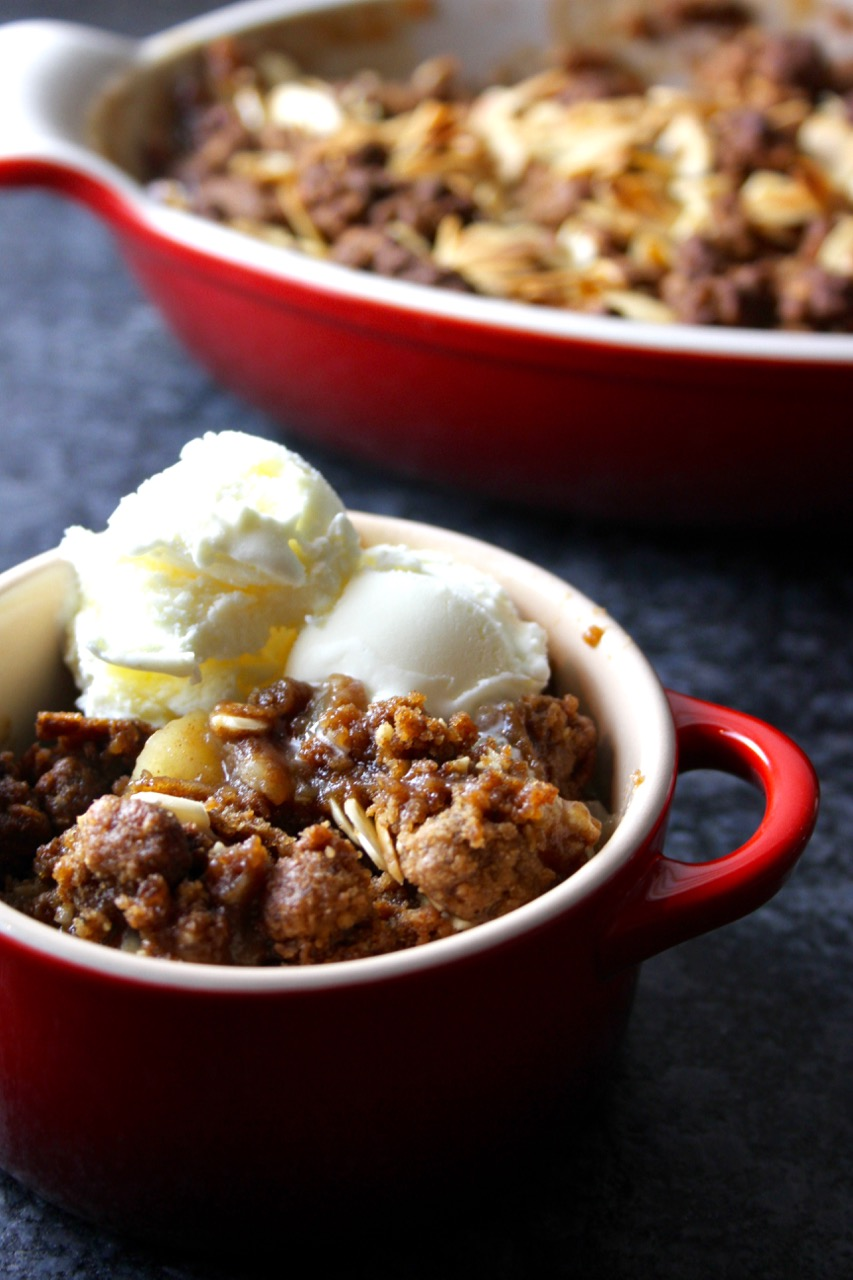 Speculoos Apple Crumble