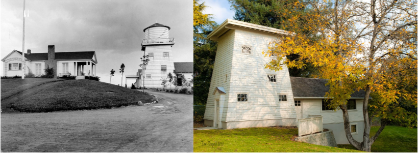 In 2018 $40,000 was awarded to restore the old Alderwood Manor demonstration farm water tower. Work will soon begin to replace the water jug that use to sit on top of the tower.