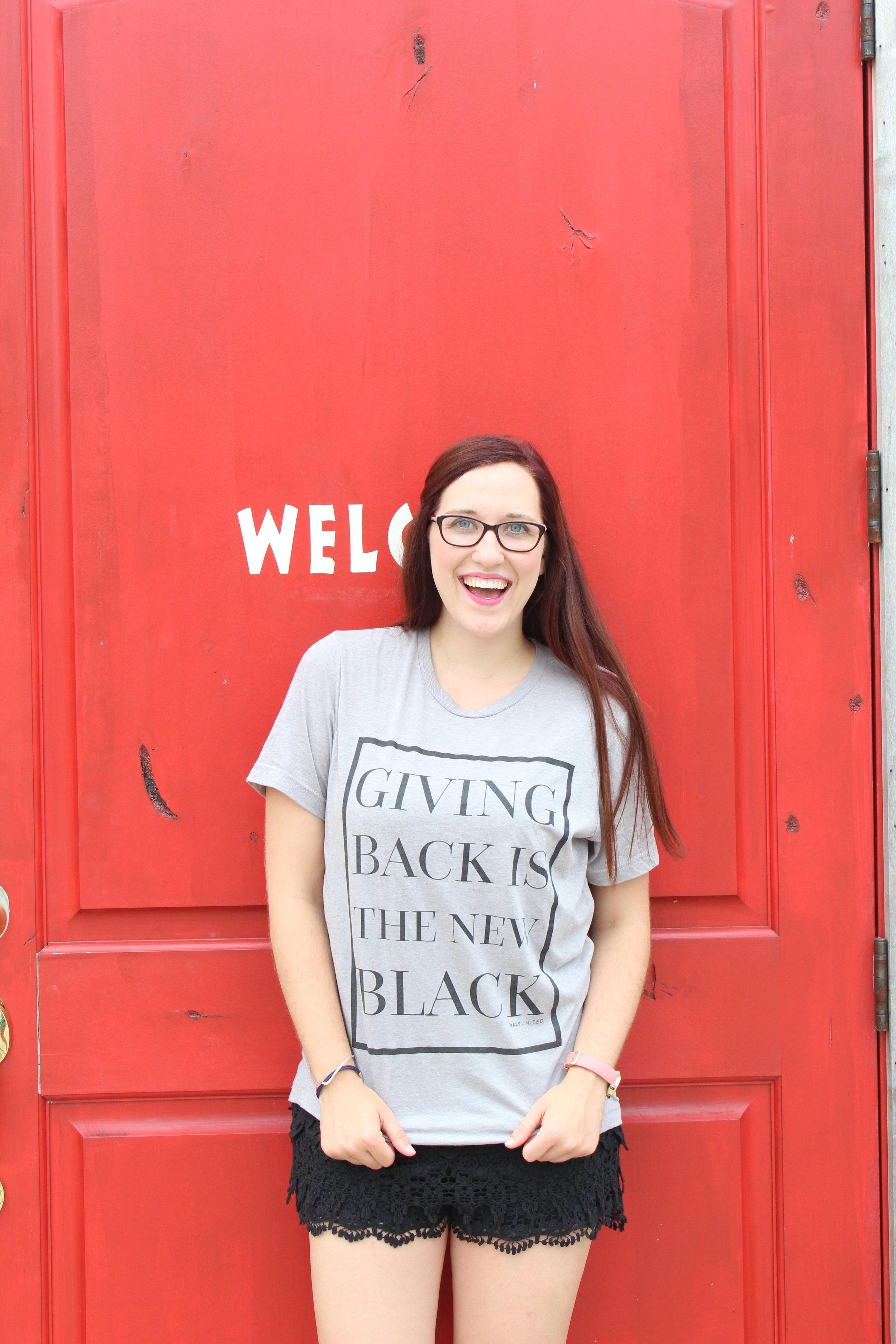 Cara + Give Back + Red Door