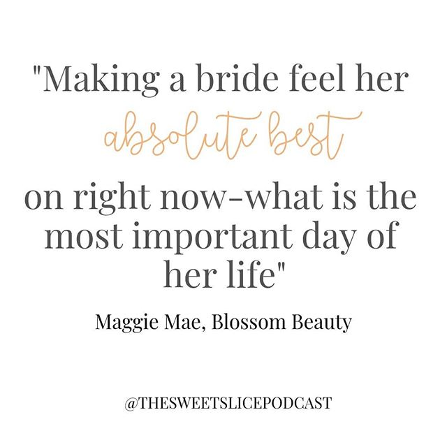 Hey Brides! The ladies at @blossombeautyar have such a heart to help you feel your absolute best on your wedding. Why? Because you deserve it!  Listen to episode 5 today to hear how hear team does just thay!  available on // @spotify @applepodcasts @stitcherpodcasts @anchor.fm or link in bio