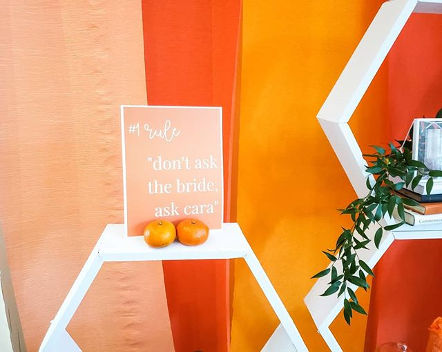 // don't ask the bride, ask cara // & yes it's really a rule at all my weddings.  This is why my brides hire Cara Nicole Event - because just like you they want to enjoy the day too.