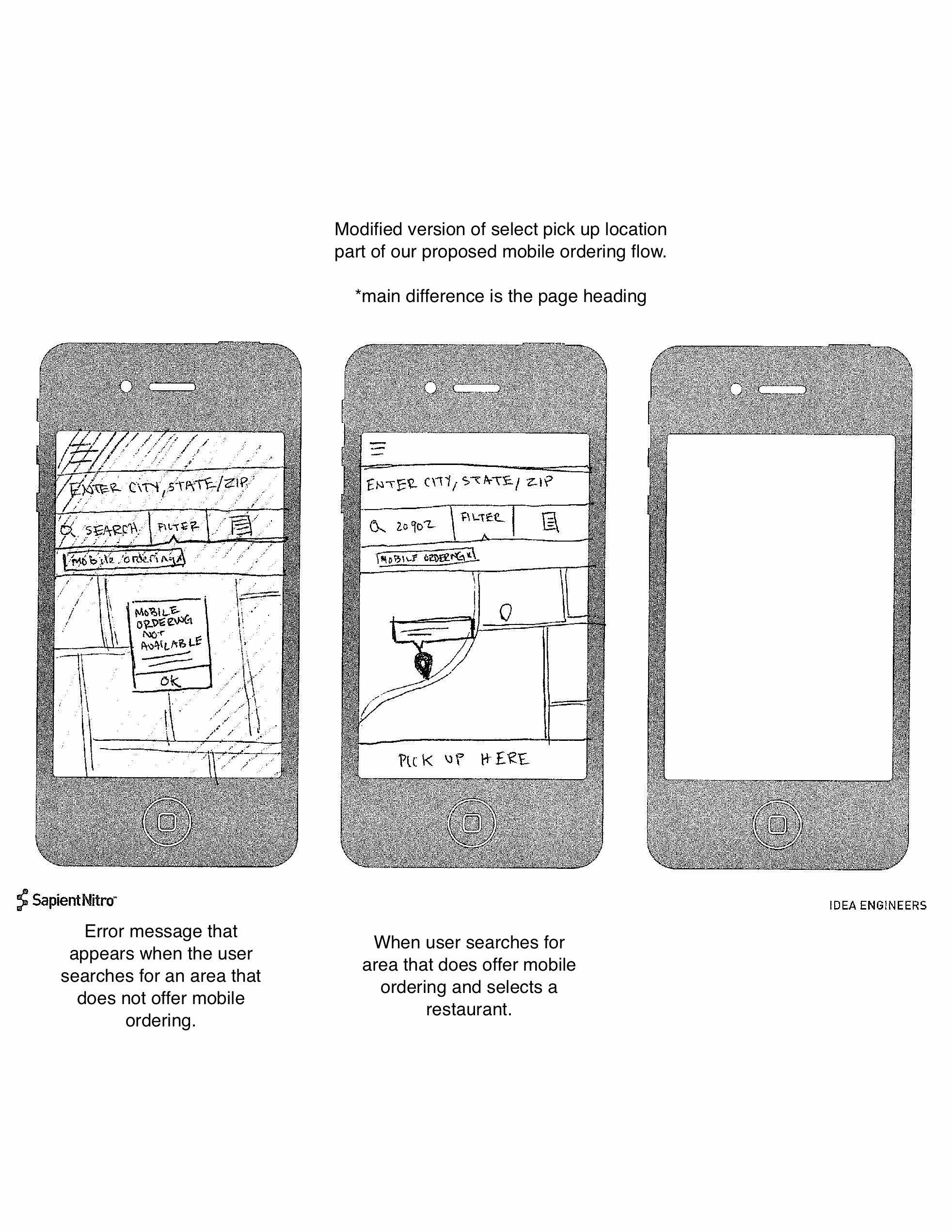 Mobile Ordering Sketch