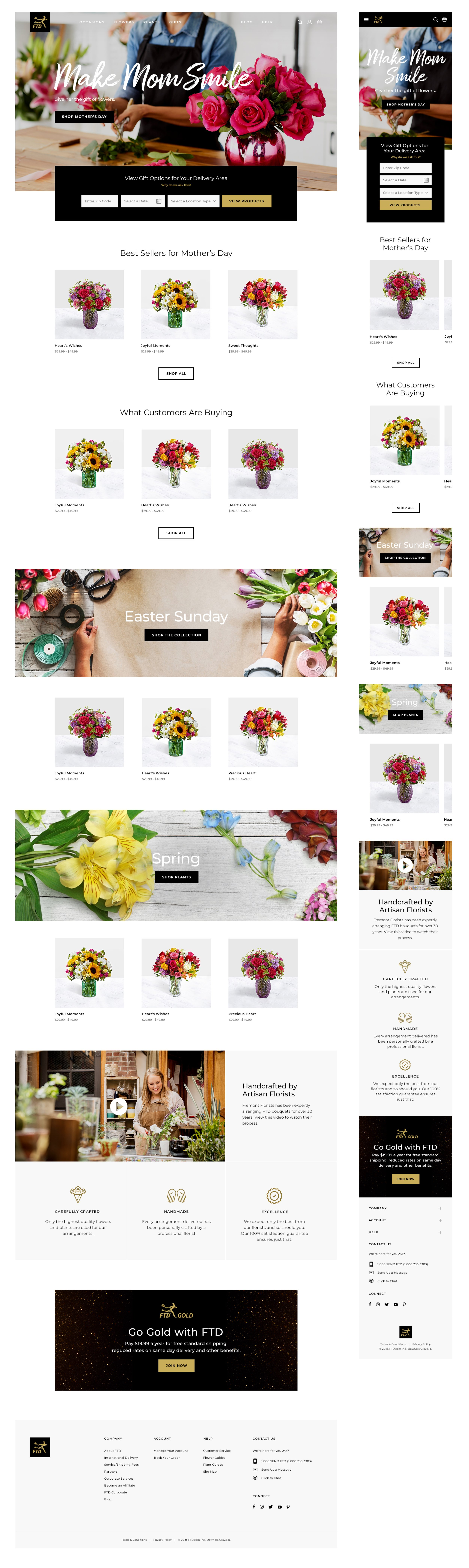 FTD Homepage