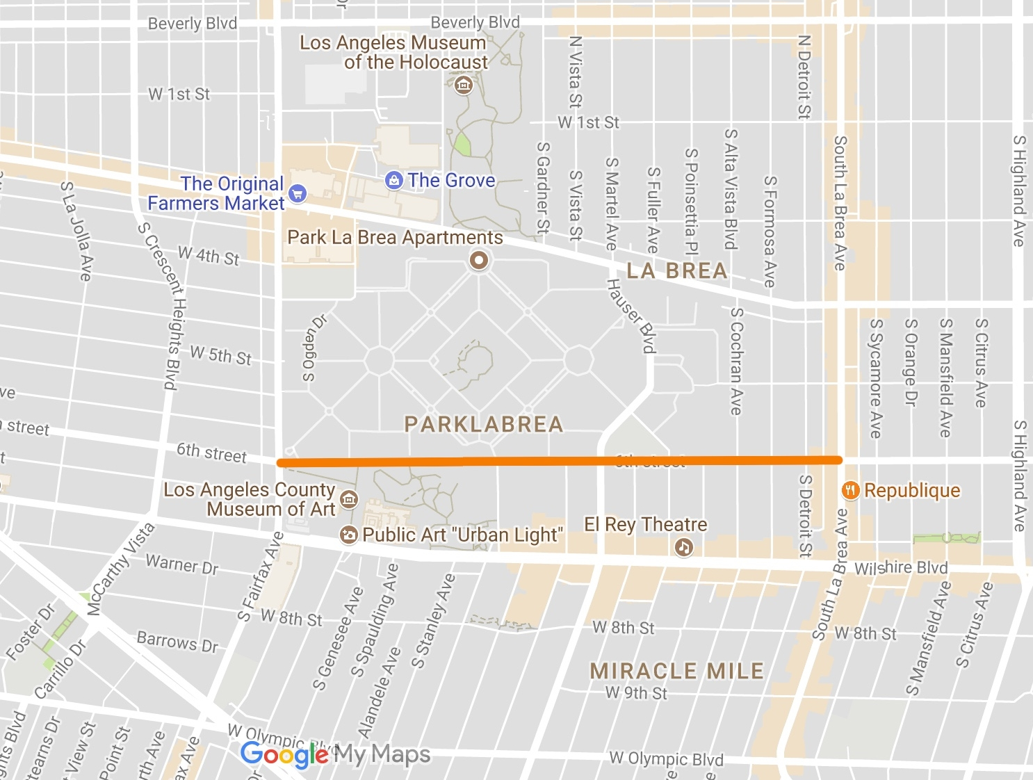 Special Interest Activists wanted to take away two heavily-used lanes from cars on 6th Street between Fairfax and Highland. Their plans would have created gridlock and without fixing the problems that led to past accidents.
