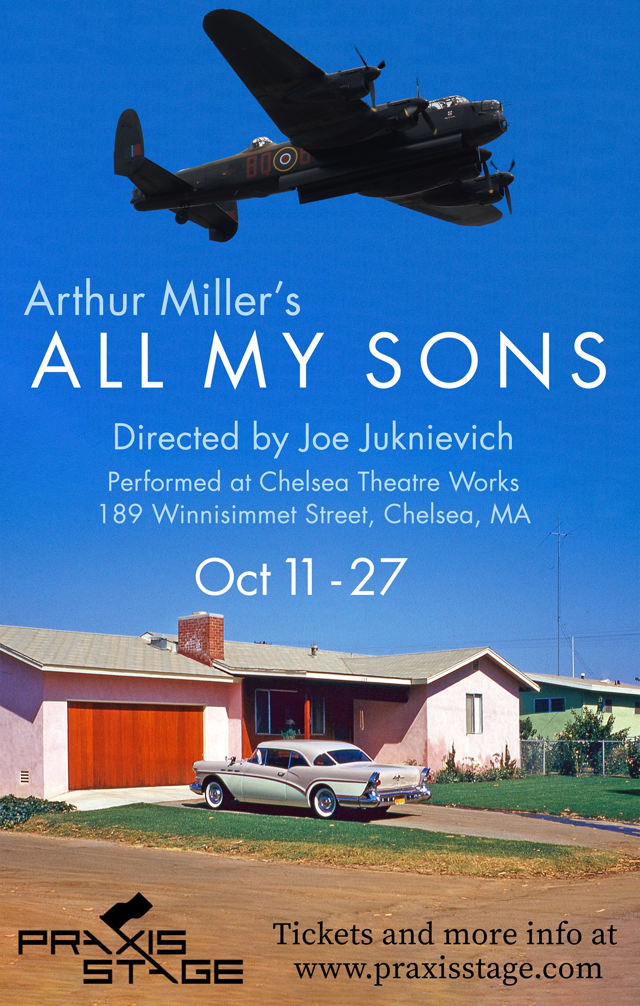 """All My Sons - — Nominated by the The Boston Theater Critics Association for the Norton Award for Best Ensemble at the 37th Annual Elliot Norton Awards!For more information on this production click to it through the """"Past Productions"""" link."""