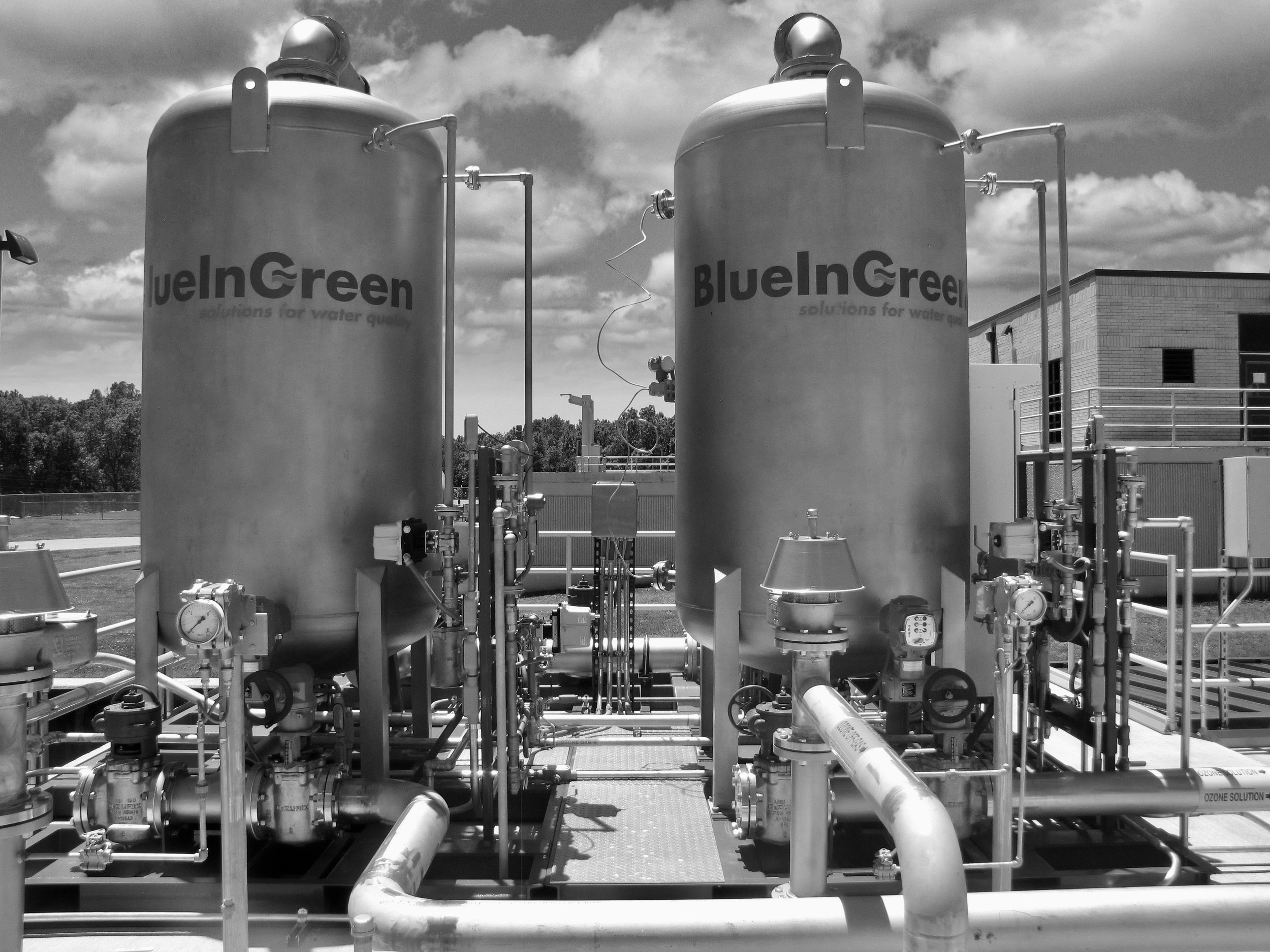 Curbing CECs.  Built on proven BlueInGreen gas dissolution technology, the HyDOZ®offers unparalleled advantages for ozonation of water and wastewater,including eliminating DBP issues or minimizing the discharge of contaminants of emerging concern.