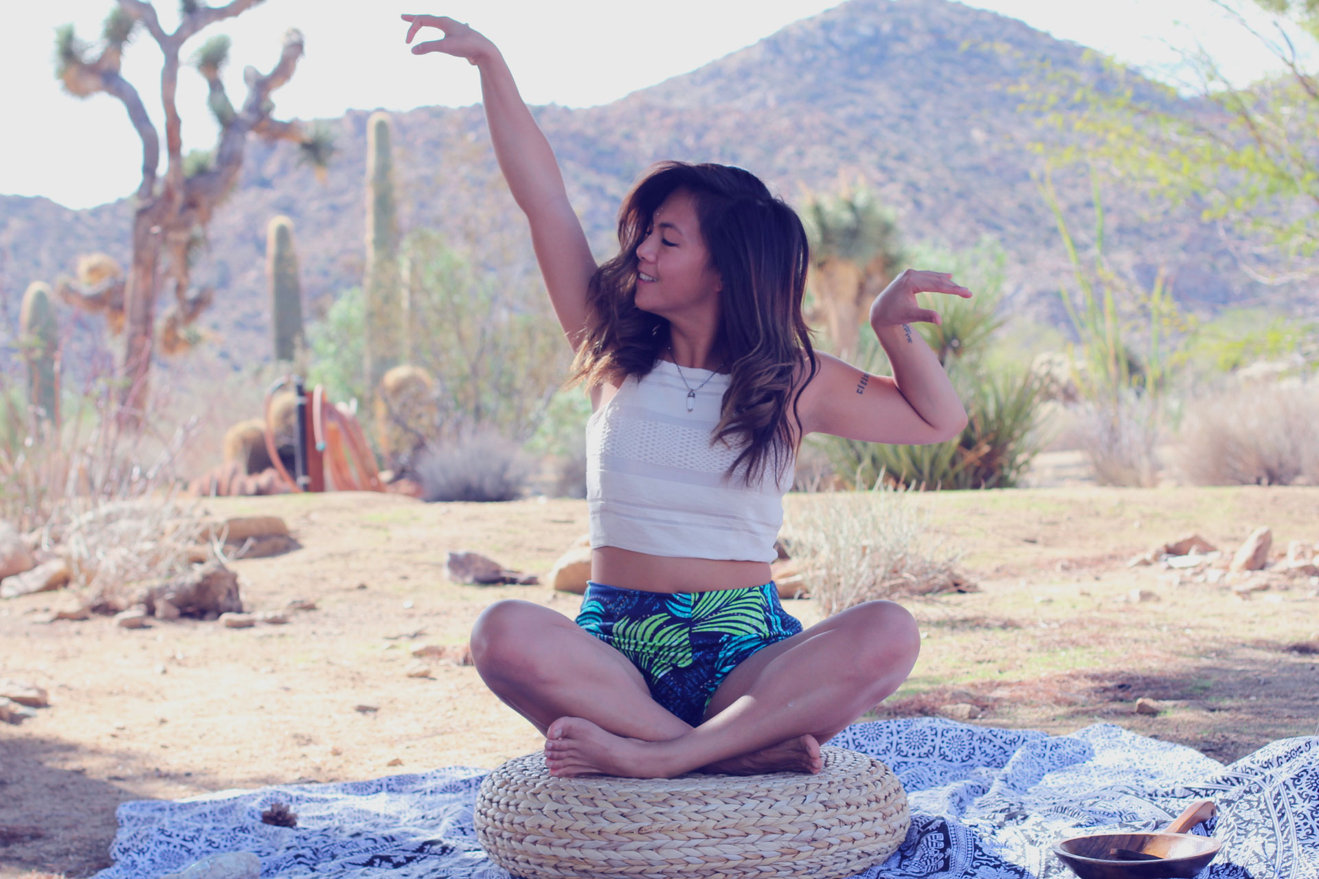 1. CONSCIOUS CREATOR VIDEO CREATION IMMERSION FOR HIGH VIBE ENTREPRENEURS - joshua tree | OCTOBER 17–20Get out of the city, away from the distractions and finally produce that compelling social campaign to launch your conscious brand with video.