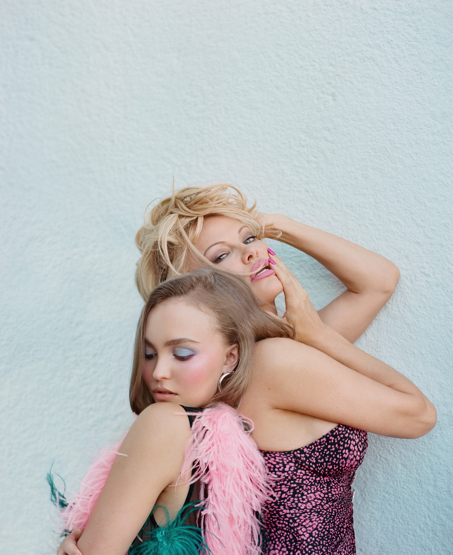 Lily Rose Depp & Pamela Anderson x V magazine cover, 2018